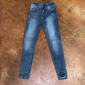 American Eagle jeans (work once)!